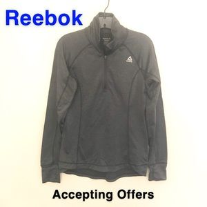 Reebok Gray Workout Long sleeved Shirt ✅Offers😁